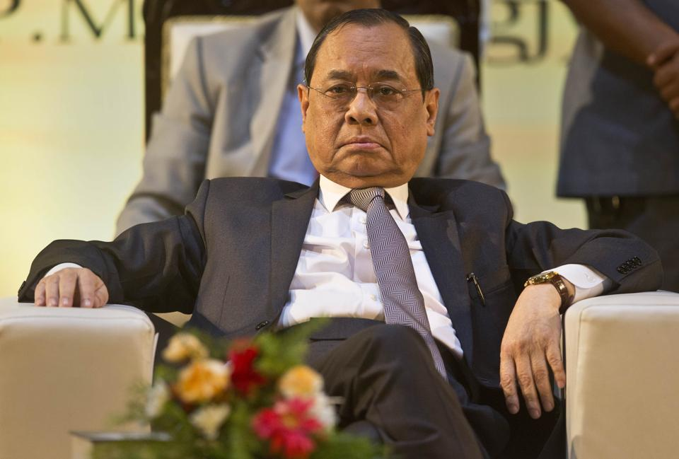 Chief Justice of India Ranjan Gogoi retires  on November 17.