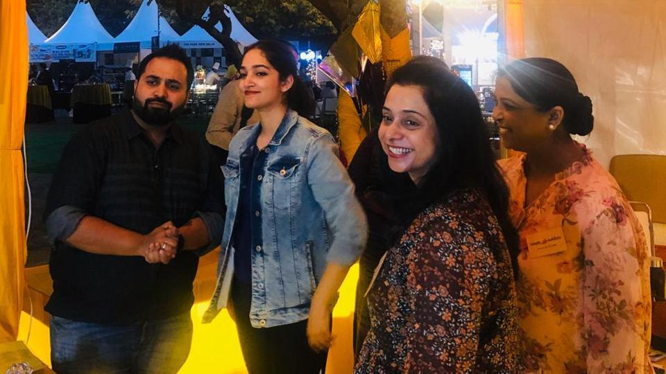 HT Palate Fest 2019 Day 1: Visitors enjoying in the fest.