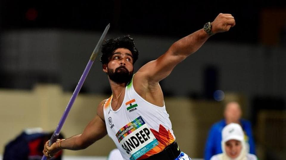 Sandeep Chaudhary 66.18m, clinched Gold.