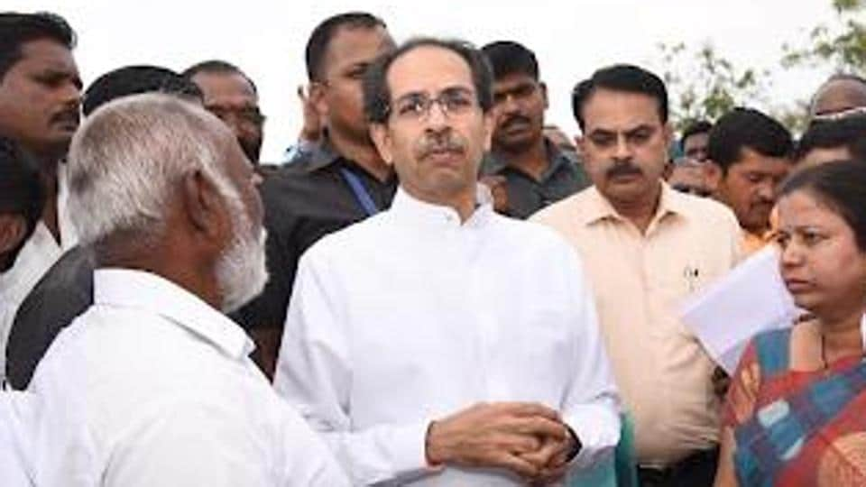 The Uddhav Thackeray-led party took on the BJP chief Amit Shah saying that his party had initially declined to form the government.