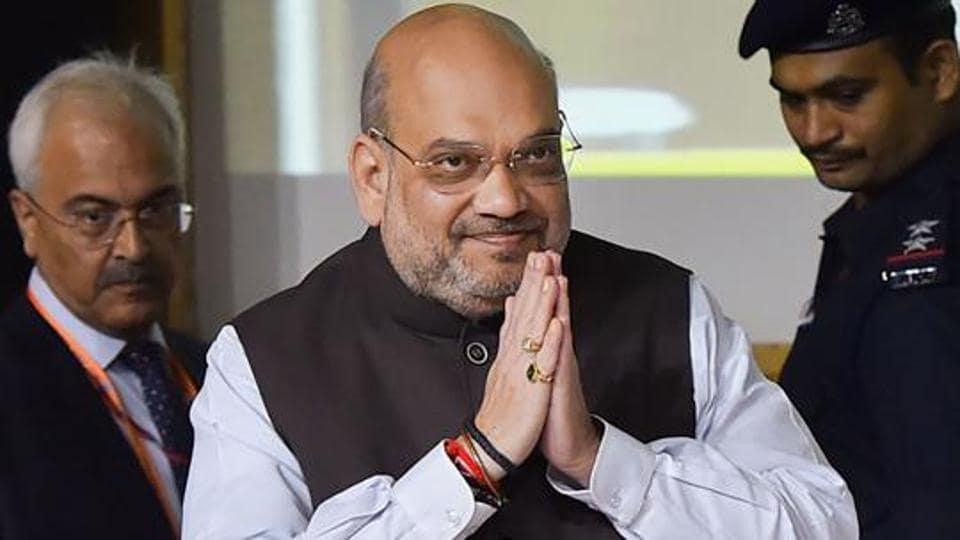 During the visit to the CRPF headquarters on Friday, Union Home Minister Amit Shah reviewed the operational preparedness of CRPF, which is the key law and order force in Jammu and Kashmir and Naxal affected districts.