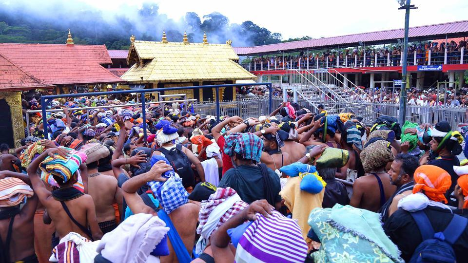 The opening of the Sabarimala temple comes two days after a five-judge bench of the Supreme Court had referred a clutch of petitions seeking a review of its order last year, which paved the way for the entry of women of all ages into the shrine dedicated to Lord Ayyappa to a larger seven-judge bench by a majority 3:2 ruling.