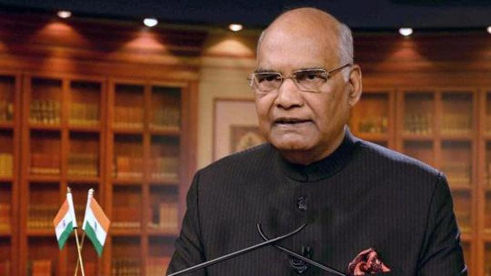 President Ram Nath Kovind.