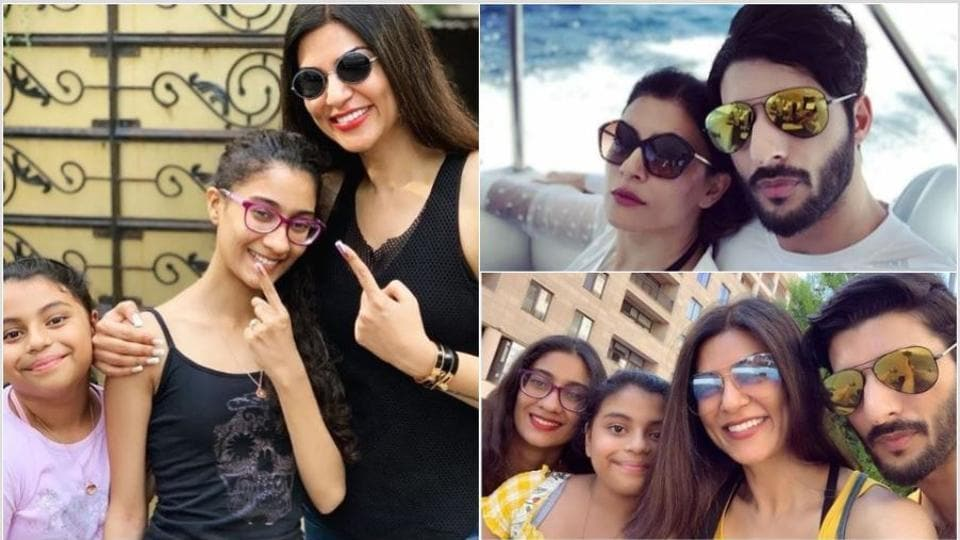 Happy birthday Sushmita Sen: Here are her happiest pictures with her family.