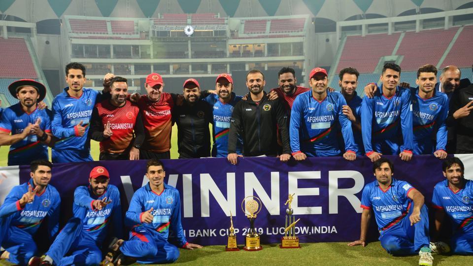 Afghanistan win series 2-1.