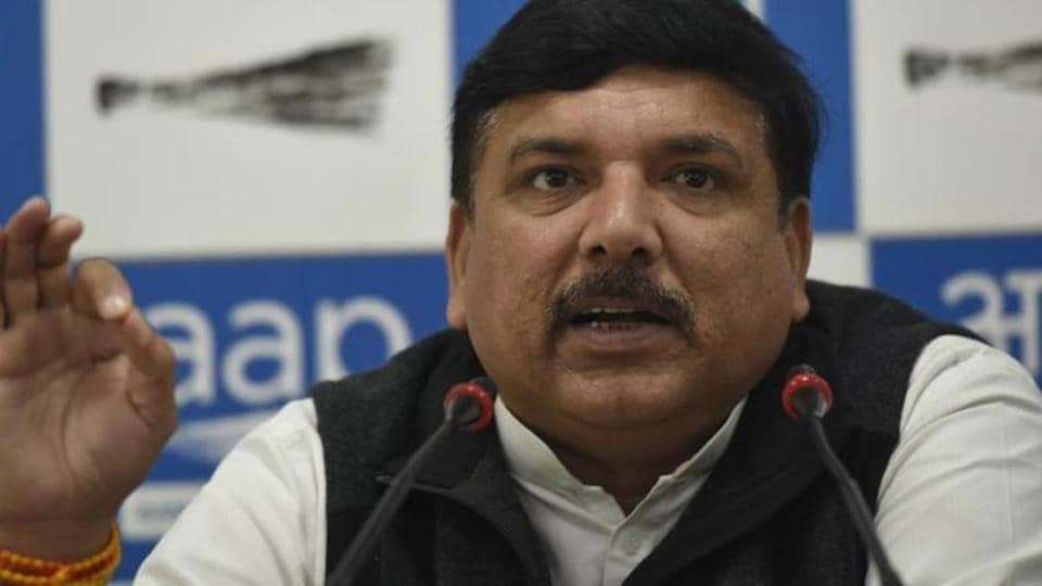 Claiming that no one even mentions Congress in Delhi, the AAP Rajya Sabha MP said the grand old party cannot be even considered a competitor for the elections in Delhi.