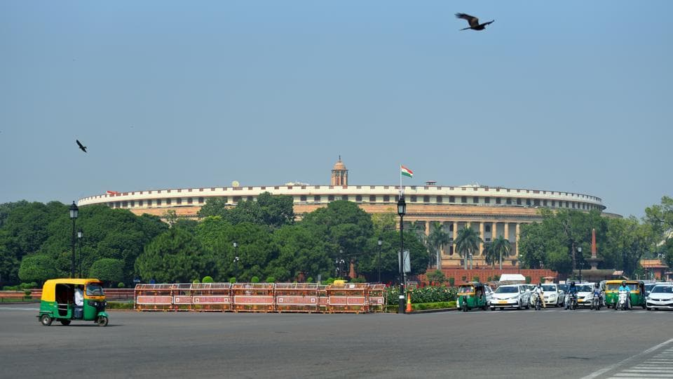 Parliament's winter session is scheduled to be held from November 18 to December 13.