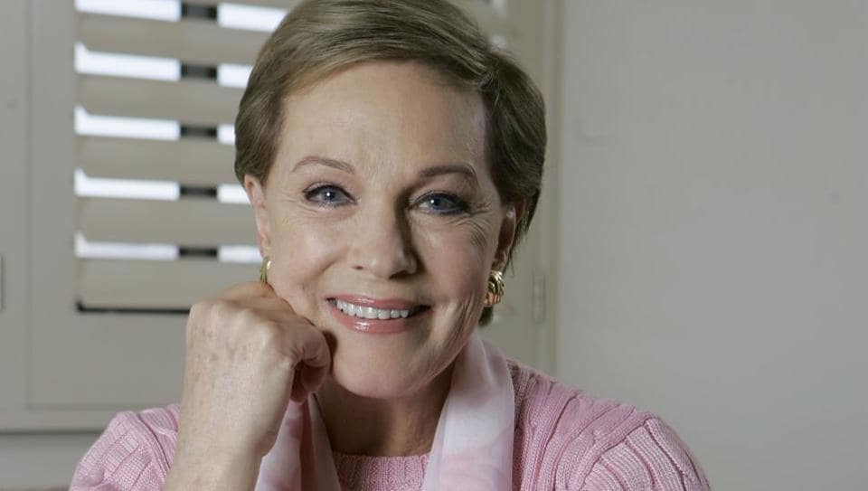 Julie Andrews has worked in iconic films such as Mary Poppins and Sound of Music.