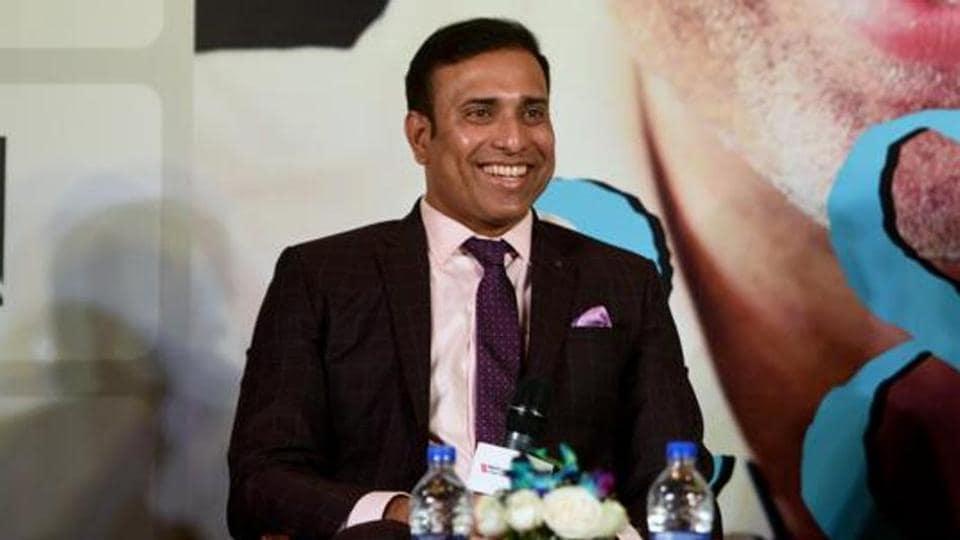 Former Indian Cricketer VVS Laxman.