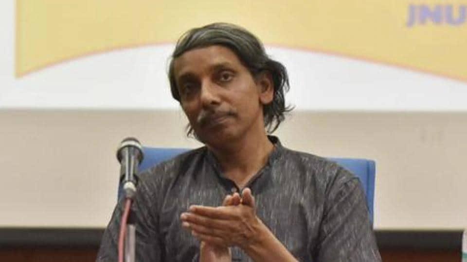 JNU Vice-chancellor M Jagadesh Kumar.