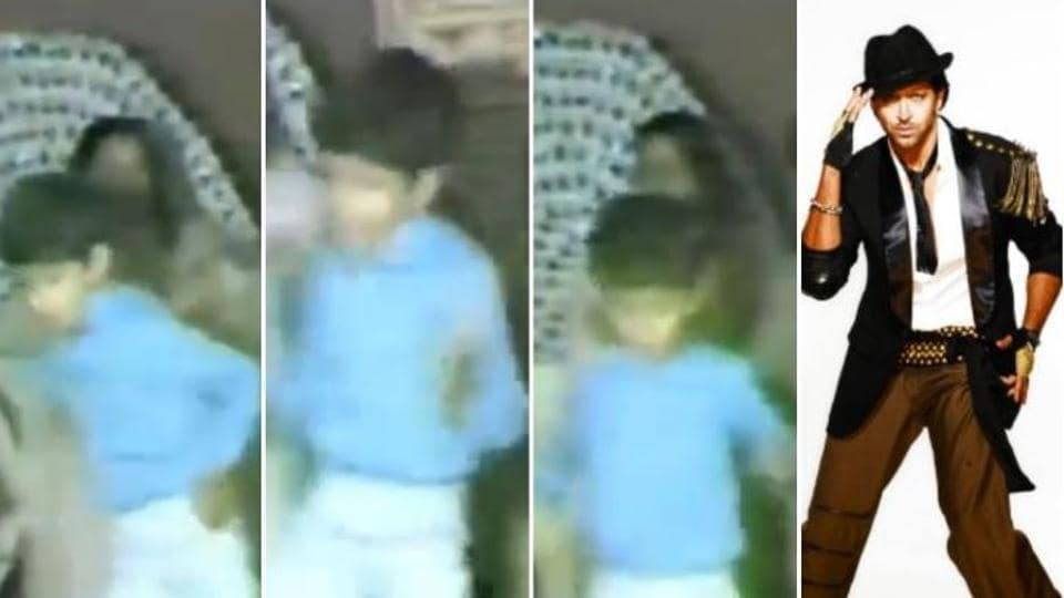 Hrithik Roshan's mother Pinkie shared a childhood video of the actor on social media.