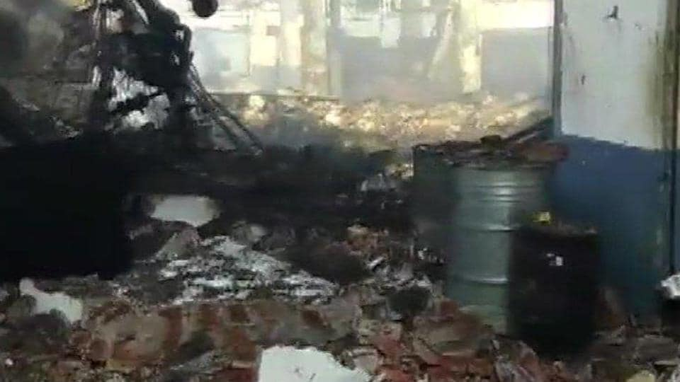 The deafening sound of the explosion was heard by the people in the residential colonies located a kilometre away from the factory and smoke engulfed the entire area.