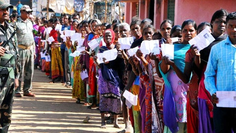 In all, four seats go to polls in Jharkhand on May 6. The remaining seven out of 14 Lok Sabha seats in the state, will poll in the upcoming two phases. In 2014, the BJP won 12 seats, including the four that poll on Monday.