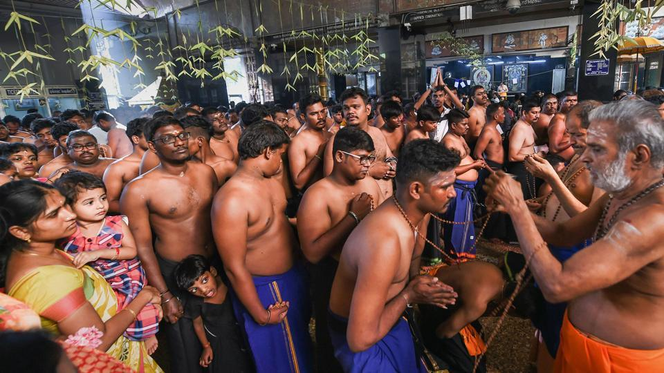 Over 70,000 devotees have offered prayers at the Sabarimala shrine since the temple opened on November 16.
