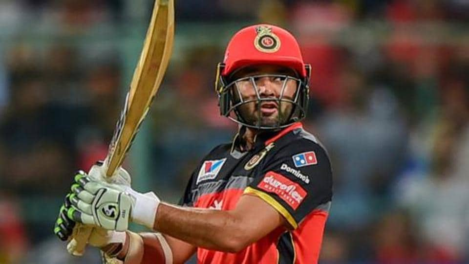 RCB batsman Parthiv Patel plays a shot during the Indian Premier League 2019.