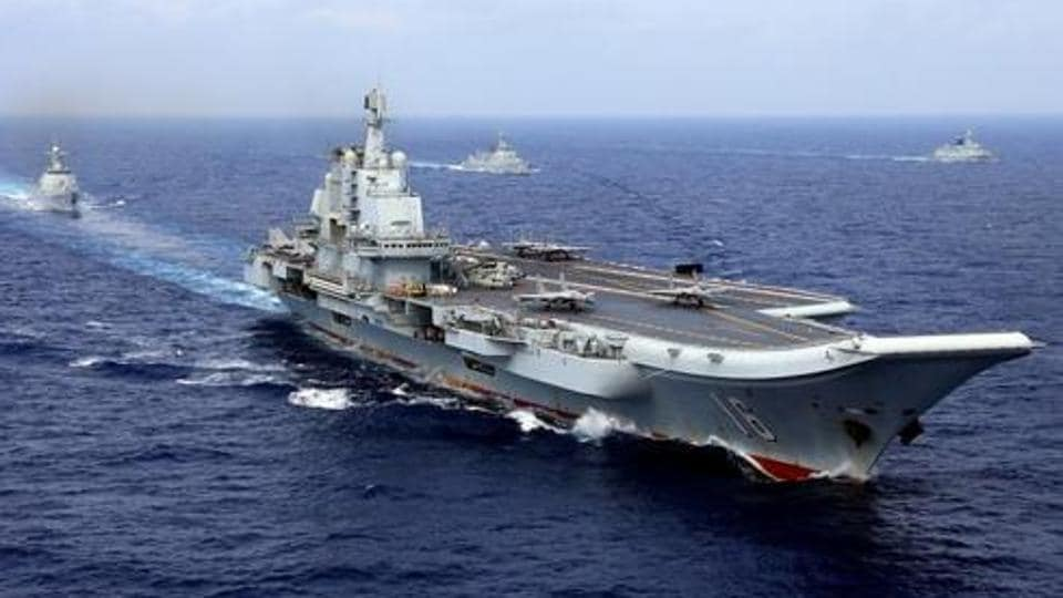 China's first aircraft carrier Liaoning, made in the Soviet Union before its dissolution, was launched in 2012.