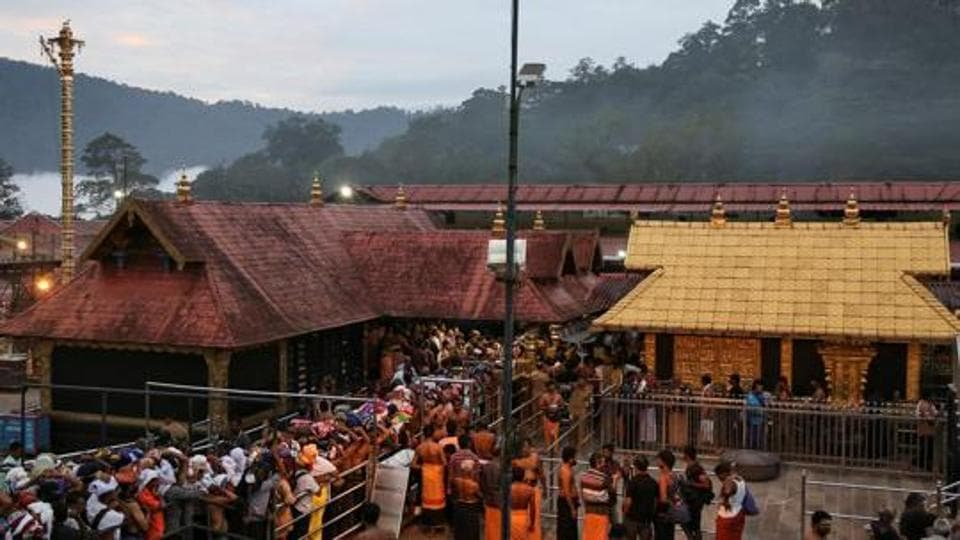 Supreme court did not stay its earlier order allowing entry of women in the Lord Ayyappa temple.
