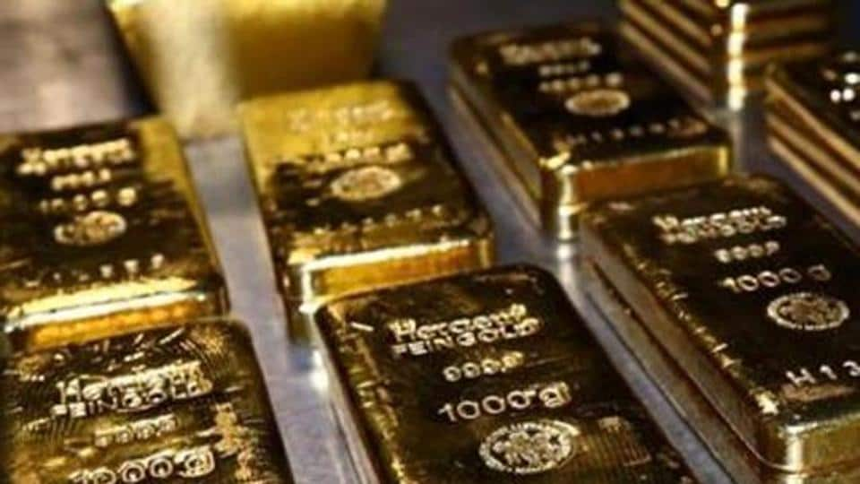 Spot gold prices for 24 Karat in Delhi were trading higher by Rs 328 on Tuesday.