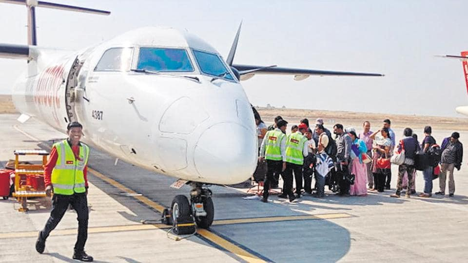 Since Thursday last, 28 daily flights have been cancelled affecting primarily devotees flying in and out from various parts of the country to visit the famed Sai Baba temple at Shirdi