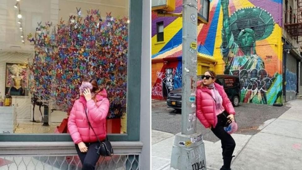 Sara Ali Khan shared new pictures from New York.