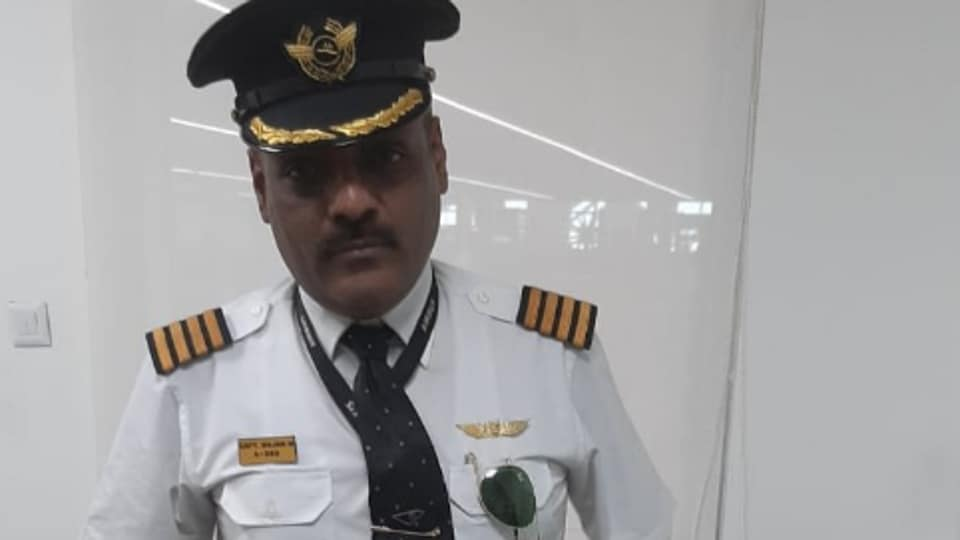 Rajan Mahbubani (48) was wearing the uniform of the airline pilot when he was nabbed from the departure gate of the airport on Monday.