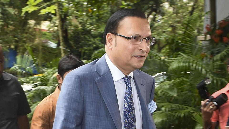 DDCA President Rajat Sharma arrives for the General Body meeting at BCCI headquarters, in Mumbai.