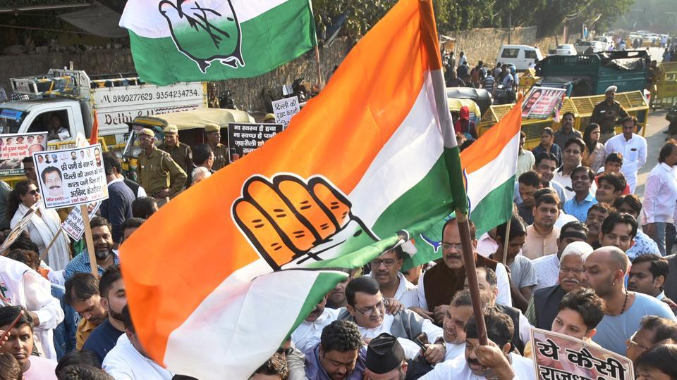 Congress won over 961 wards, leaving the BJP trailing with 737 places in Rajasthan.
