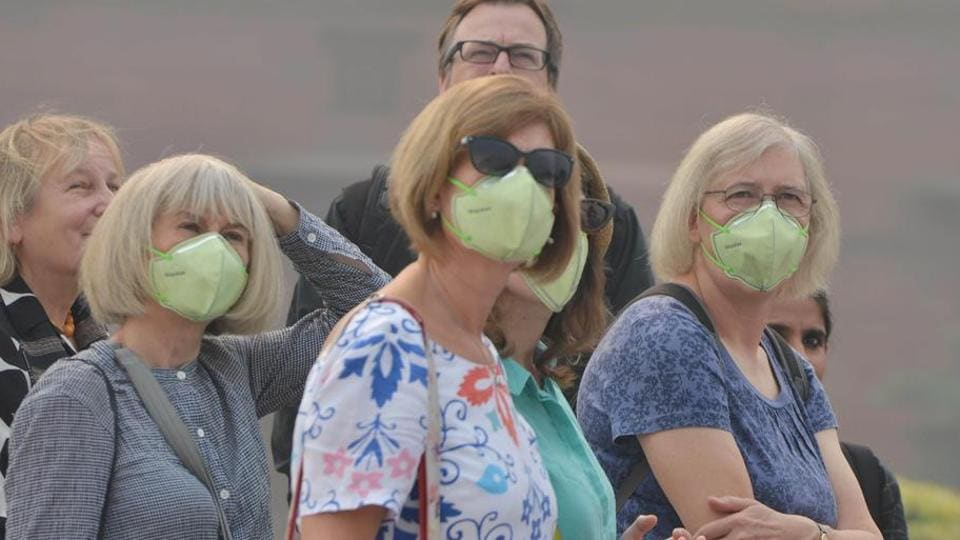 AirAsia will provide pollution masks to its passengers taking flights to Delhi from Bengaluru, Hyderabad, Mumbai and Kolkata.