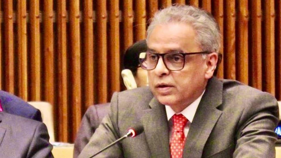India's permanent representative at the UN, Syed Akbaruddin.