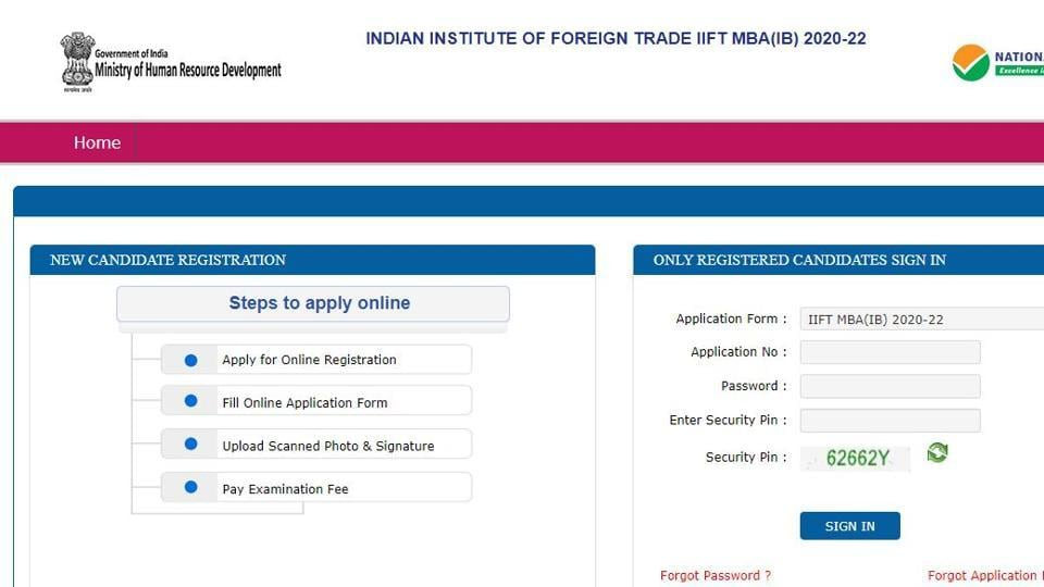 IIFT MBA admit card: The admit card for IIFT 2020 MBA (IB) 2020-22 entrance examination was released on Tuesday.