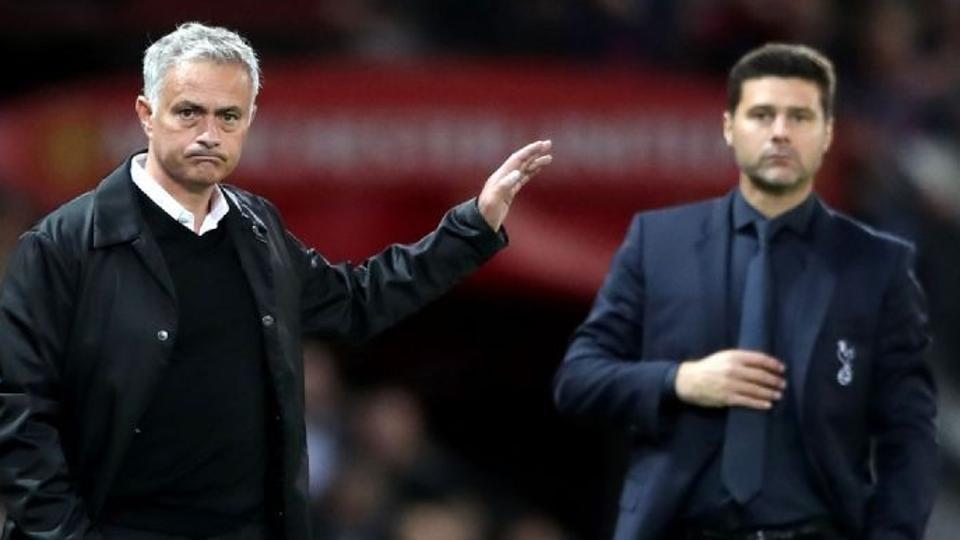 File image of Jose Mourinho and Mauricio Pochettino