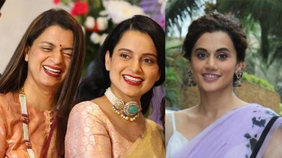 Taapsee Pannu did not mince any words while sharing her opinion about Kangana Ranaut and her sister Rangoli Chandel on No Filter Neha.