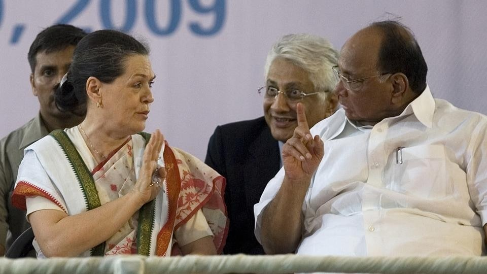 Following a meeting between Congress interim president Sonia Gandhi and Nationalist Congress Party (NCP) chief Sharad Pawar, top state leaders from the two parties are expected to meet in Delhi Wednesday, in the presence of their national leaders.