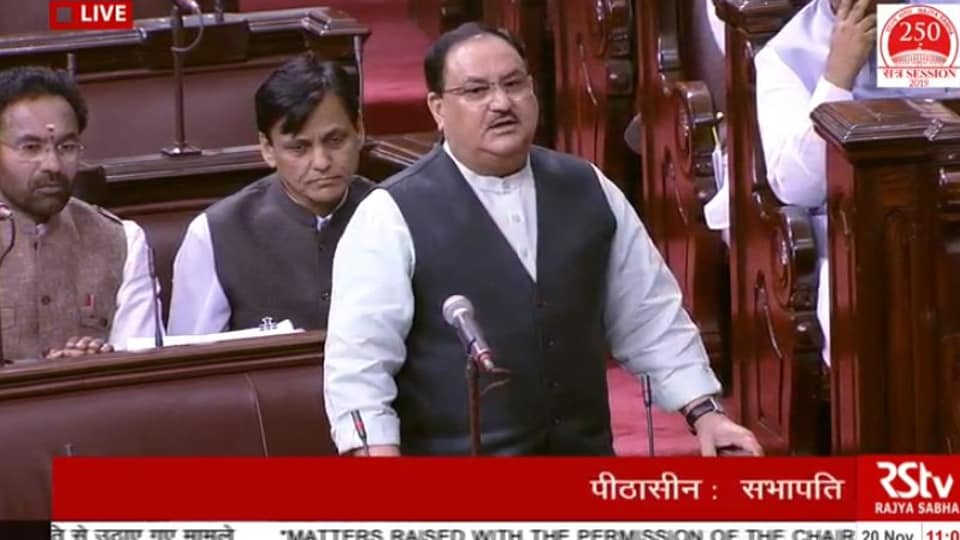 BJP's working president JP Nadda responded  to Congress leader Anand Sharma's charge about withdrawal of SPG cover to four leaders of the party.