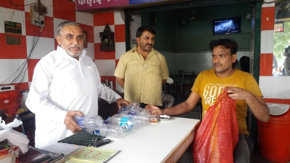 The dhaba owners meanwhile say they are happy to be able to play a role in environment conservation .