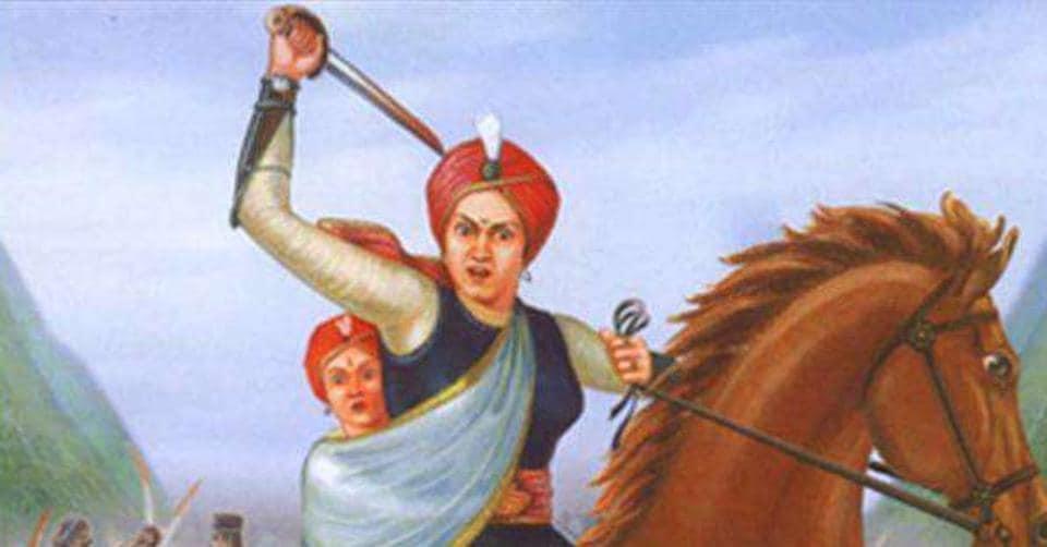 The Hindu Sena claimed that the inscription at the Rani Lakshmibai memorial in Gwalior was factually wrong.