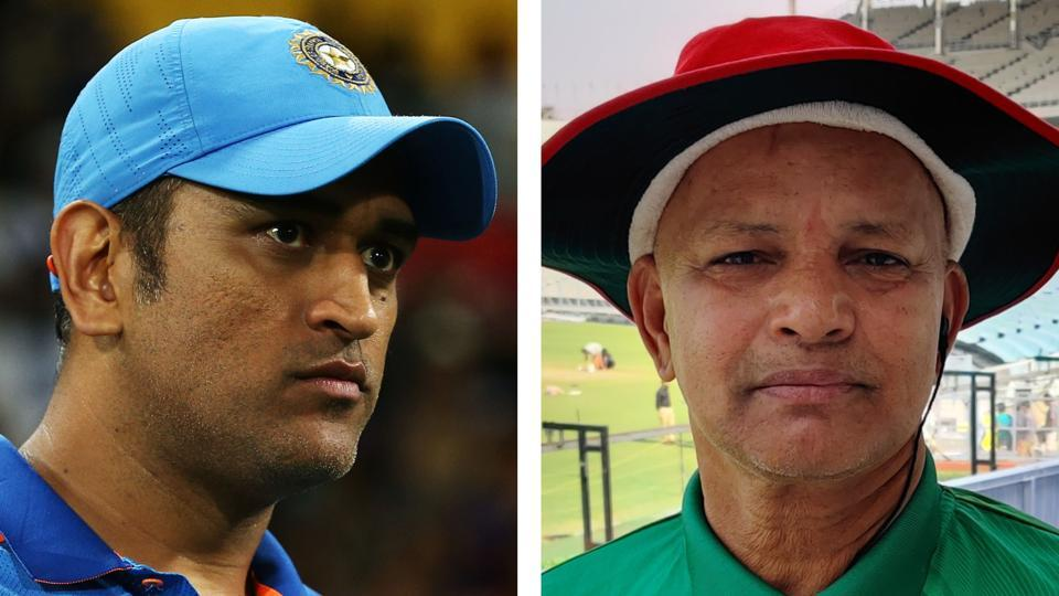 Ghosh, who has travelled from Dhaka to be a part of India's first ever Day/Night Test against Bangladesh, is Dhoni's 'chai dada'.