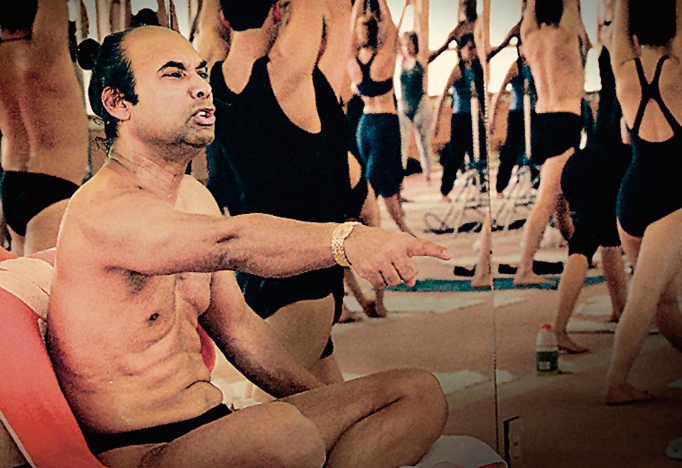 Yoga guru, Bikram Choudhury