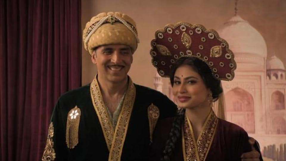 Mouni Roy played Akshay Kumar's wife in her debut, Gold.