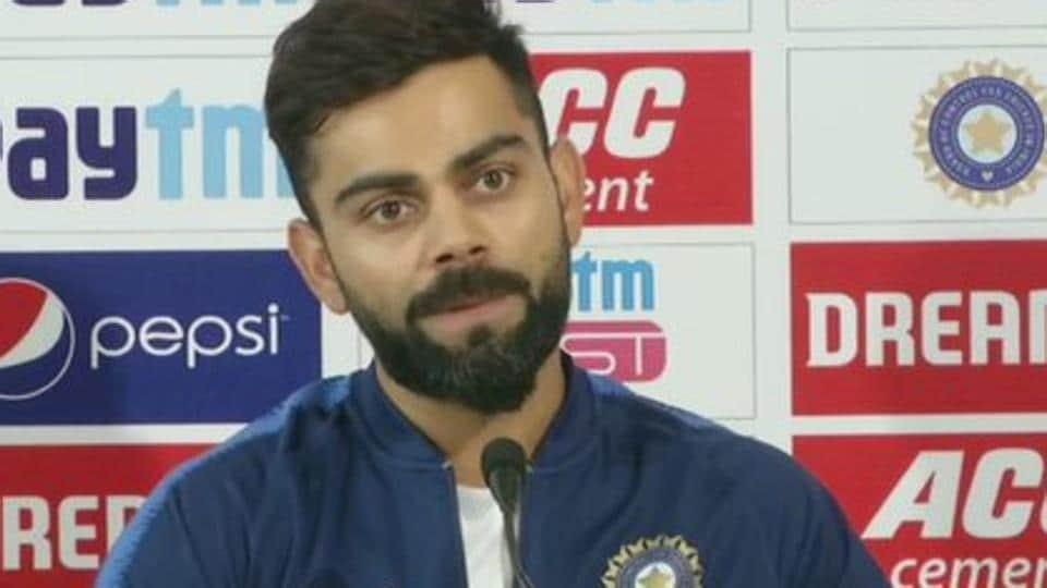 Virat Kohli addresses media ahead of Kolkata Test