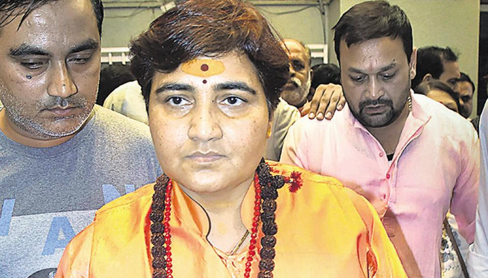 Pragya Thakur, an accused in the 2008 Malegaon bomb blast case in Maharashtra, is one of the 21 members of the Parliamentary Consultative Committee of the Ministry of Defence headed by defence minister Rajnath Singh.
