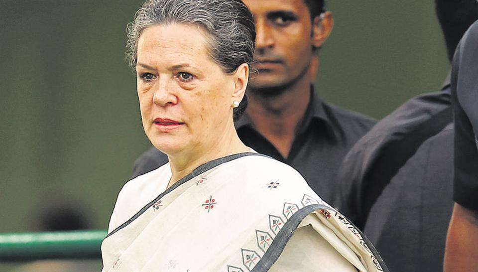 NRC, electoral bonds, and Maharashtra government formation are on agenda at CWC meet being held at Sonia Gandhi's residence.