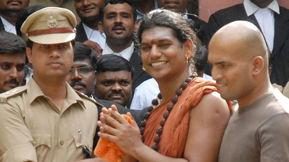 Nithyananda is also an accused in an alleged rape case filed against him in Karnataka.