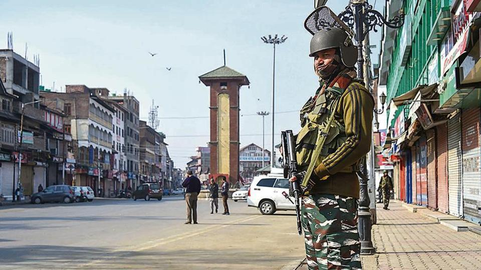 Centre justified in the Supreme Court on Thursday its restrictions in Jammu and Kashmir.