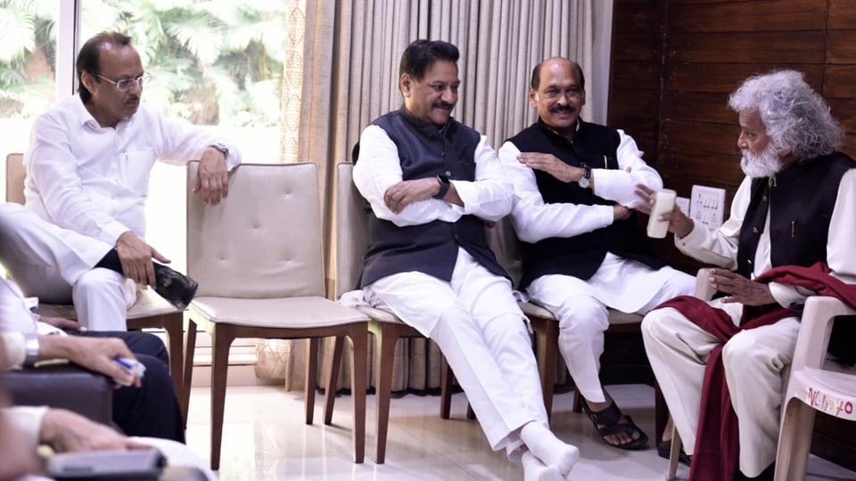 Congress and NCP held meeting with their pre-poll alliance partners to discuss formation of the government