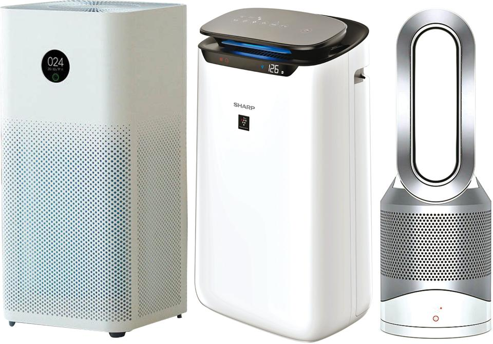 Air purifiers can be tested on their build and quality,  AQI information built in, air filter quality, amount of suction and blowing out power, sound level and convenience