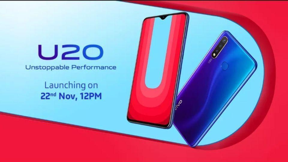 Vivo U20 India launch.