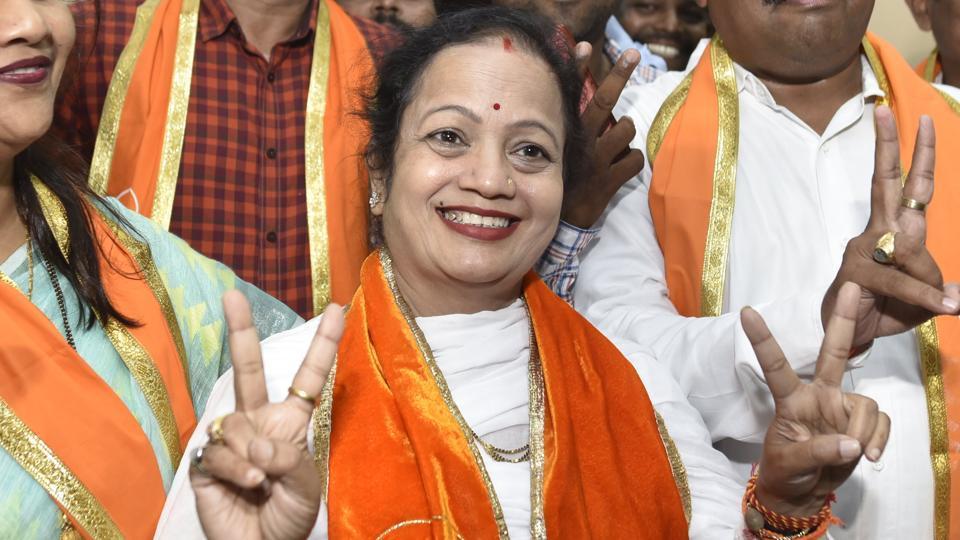 Shiv Sena leader Kishori Pednekar, 56, was formally elected the city's 77th Mayor on Friday.
