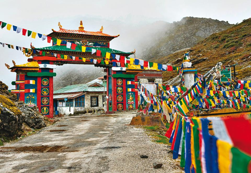 Arunachal is the largest of the North Eastern states