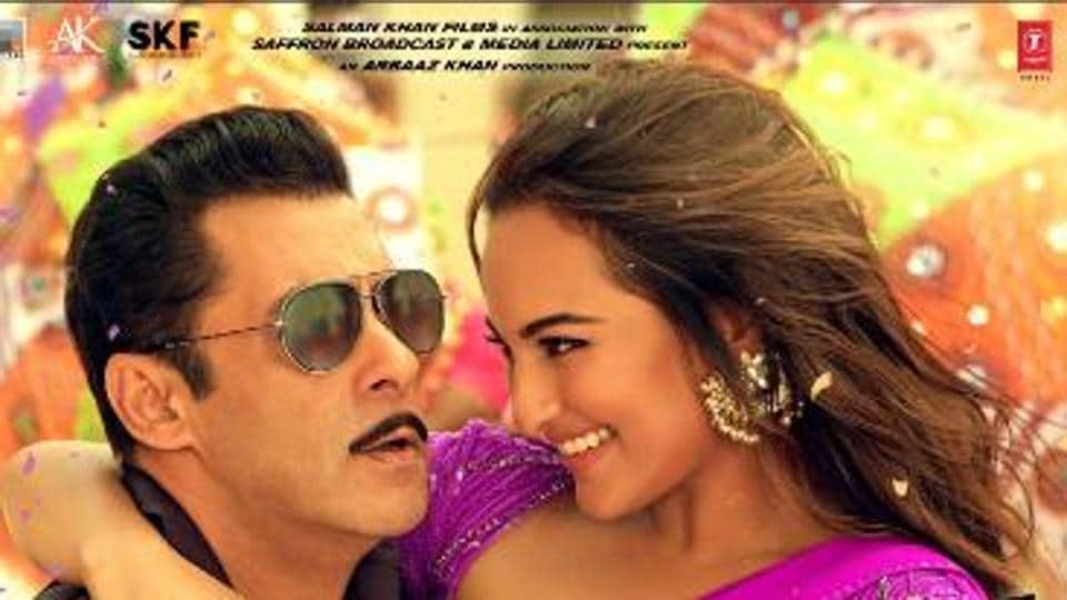 'Dabangg 3' stars Salman, Sonakshi shake leg with special children; watch
